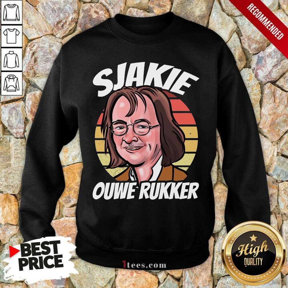 Wonderful Sjakie Ouwe Rukker Sweatshirt