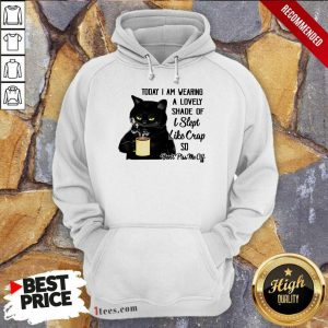 Funny Black Cat Don't Piss Me Off Hoodie