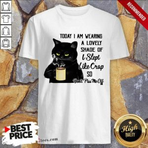 Funny Black Cat Don't Piss Me Off Shirt