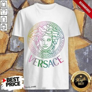Happy Versace Logo Color Shirt