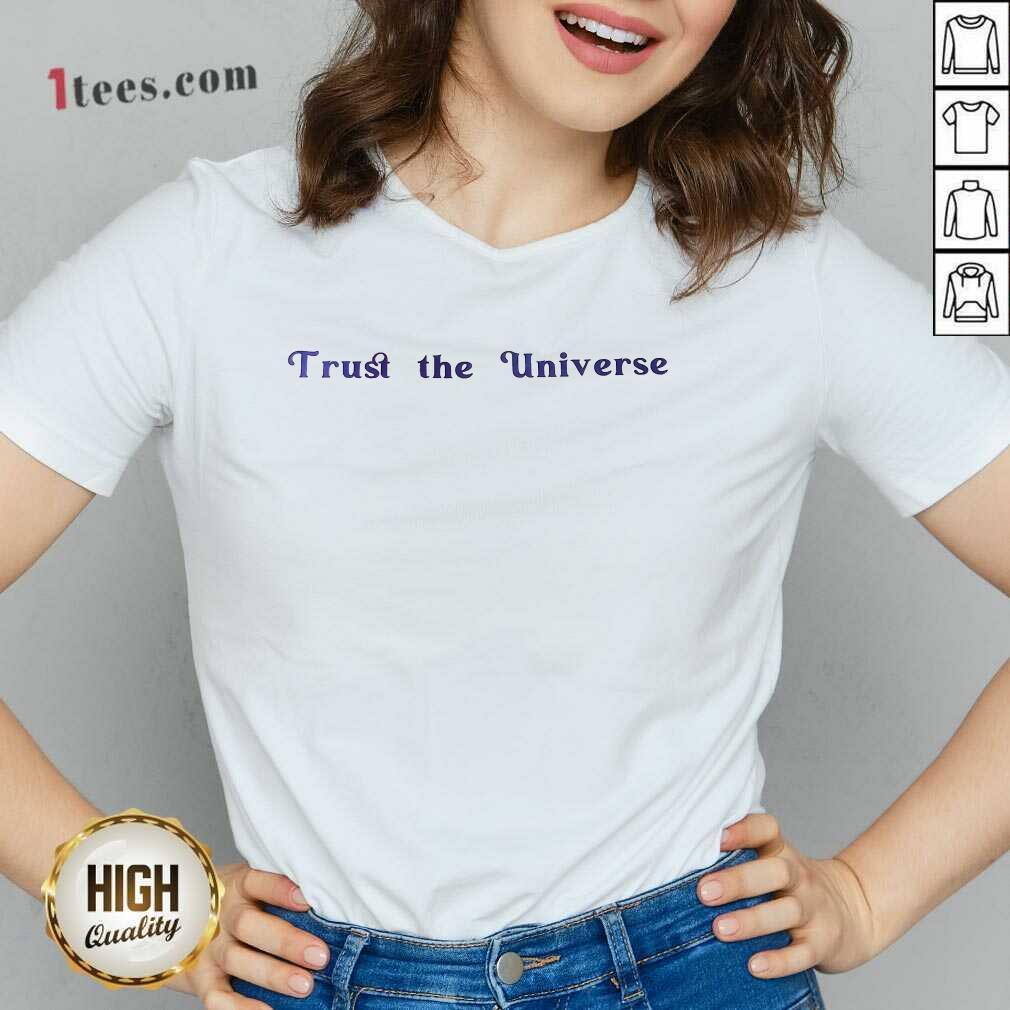Hot Trust The Universe V-neck