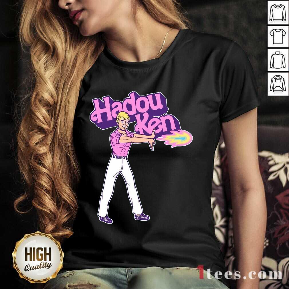 Ken Doll Hadou Ken V-neck