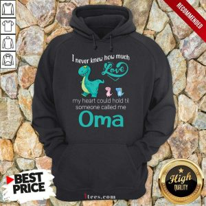 Perfect I Never Knew How Much Love Oma Saurus Hoodie