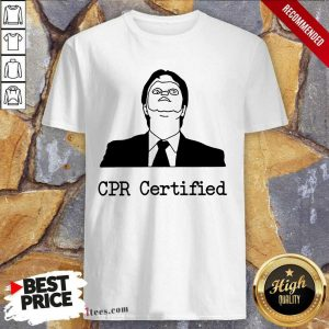 Premium Cpr Certified Shirt