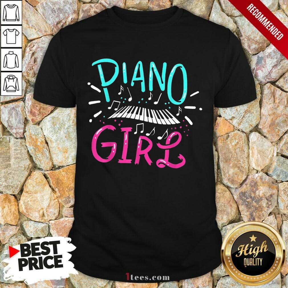 Premium Piano Girl Shirt