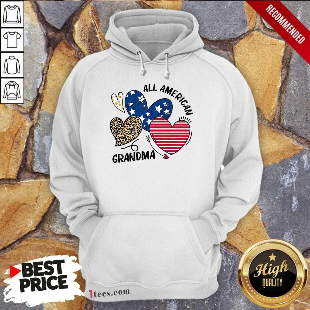 All American Grandma Hoodie