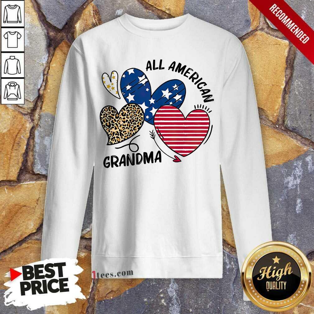 All American Grandma Sweatshirt