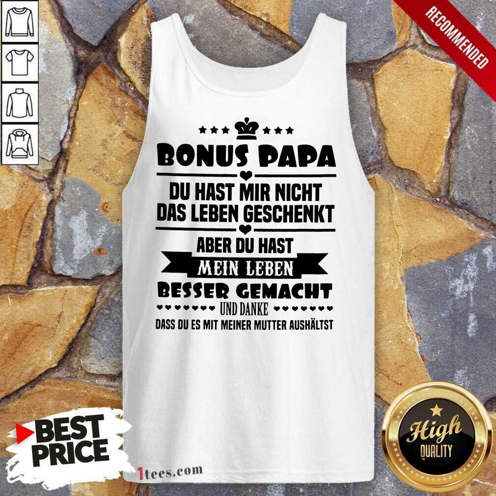 Bonus Papa Tank Top