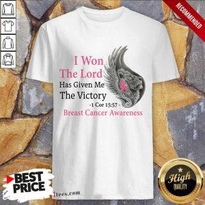 Breast Cancer Awareness Lion Shirt