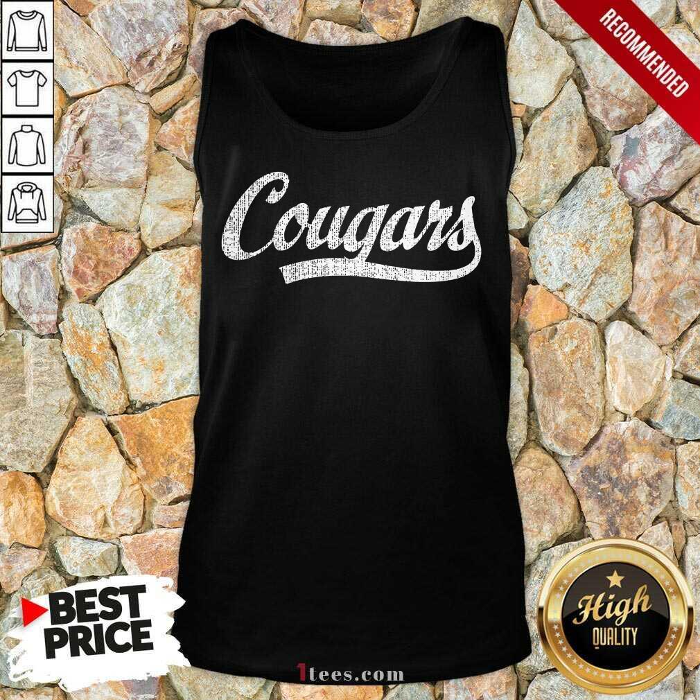 Cougars Tank Top