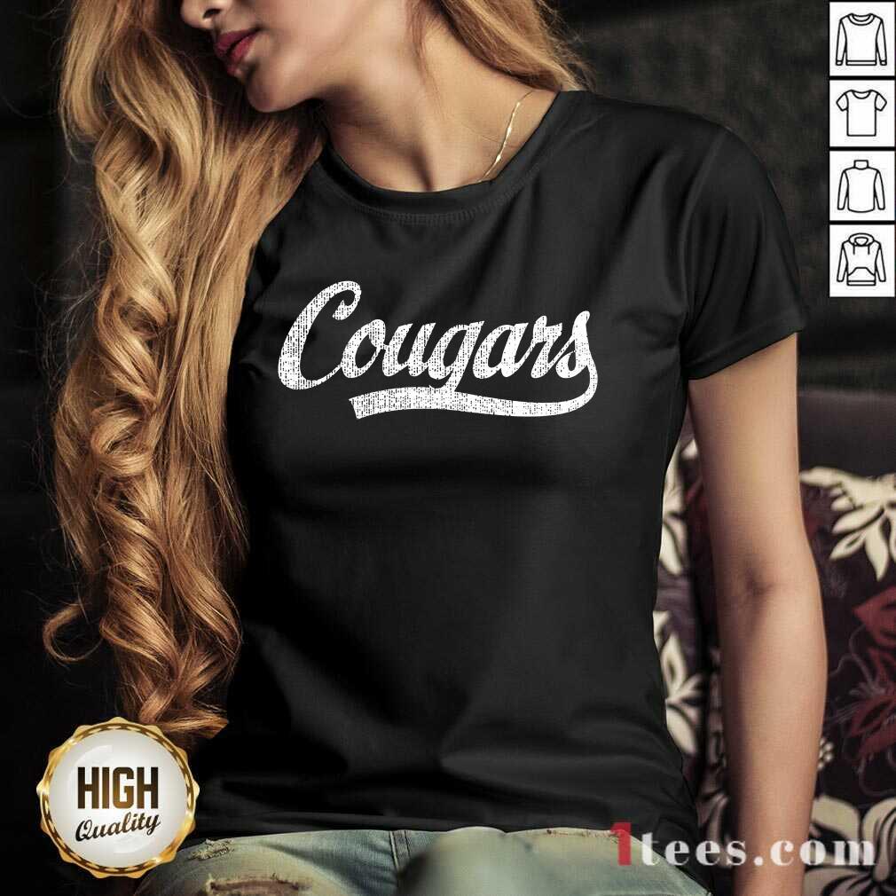 Cougars V-neck
