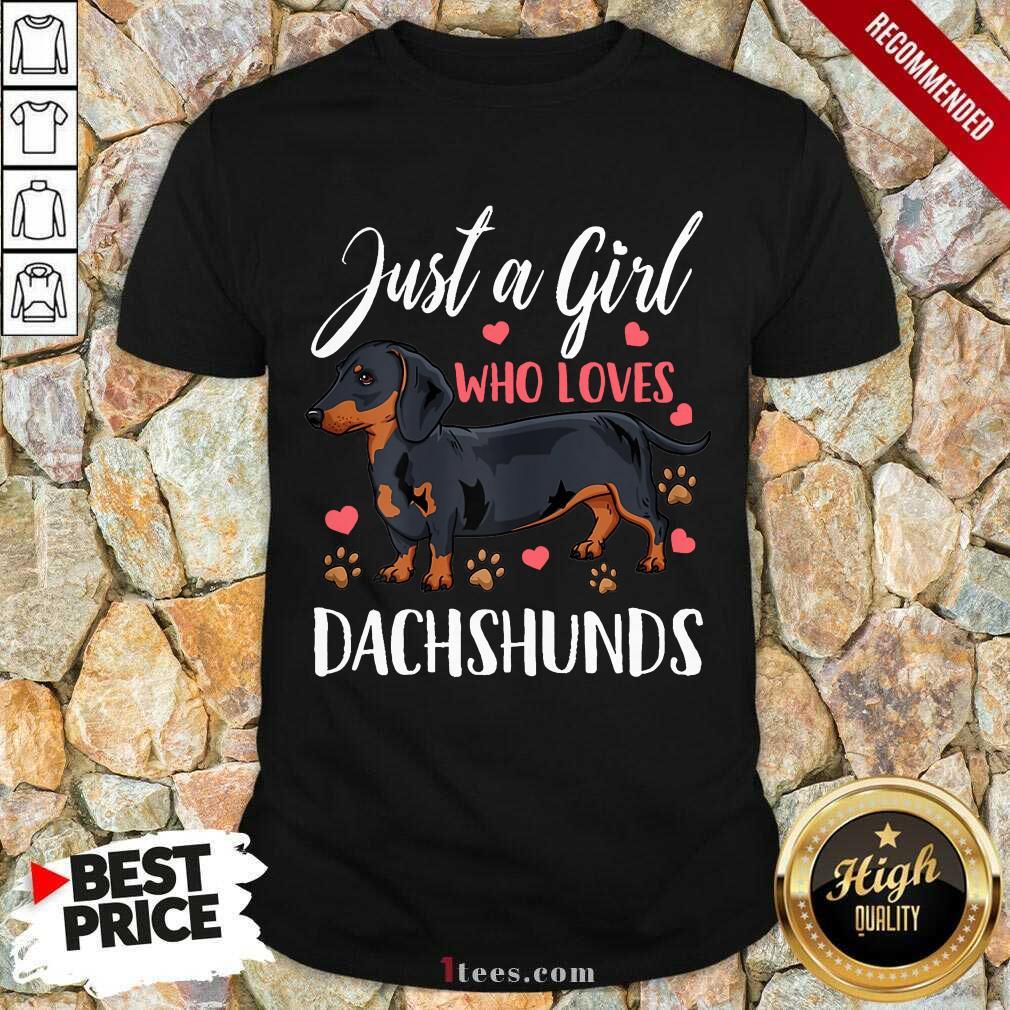 Dachshund Just A Girl Who Loves Shirt