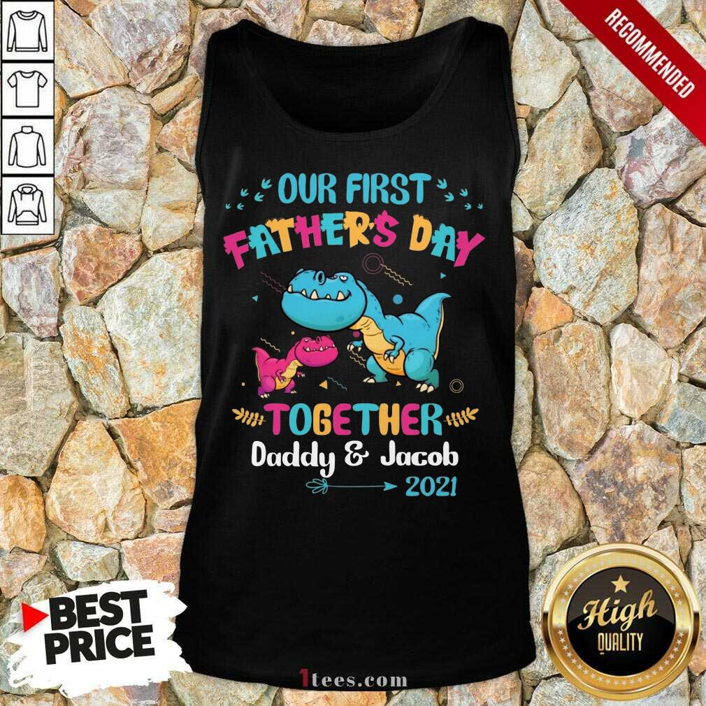 Father's Day Daddy And Jacob 2021 Tank Top