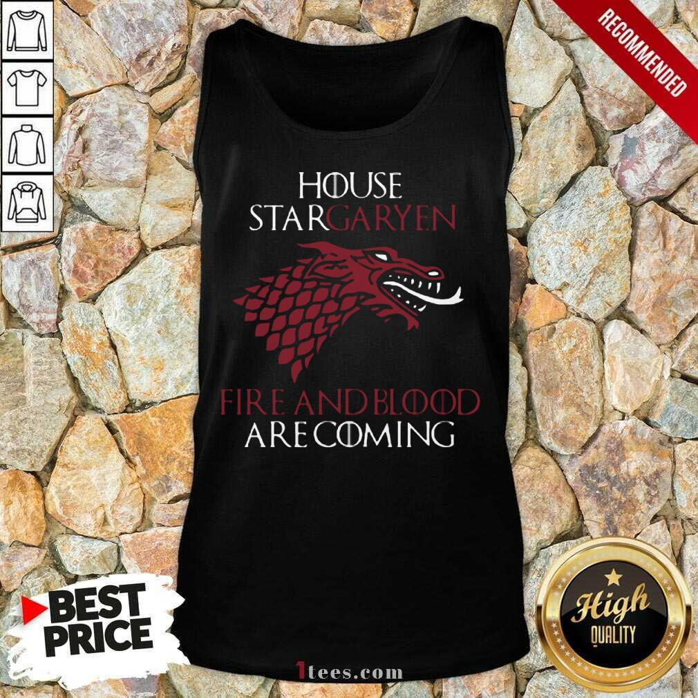 House Targaryen Fire And Blood Are Coming Tank Top