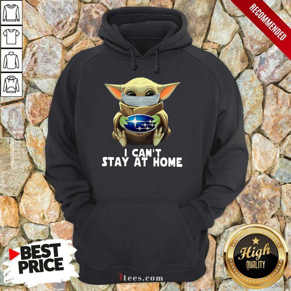 I Can't Stay At Home Yoda Hoodie