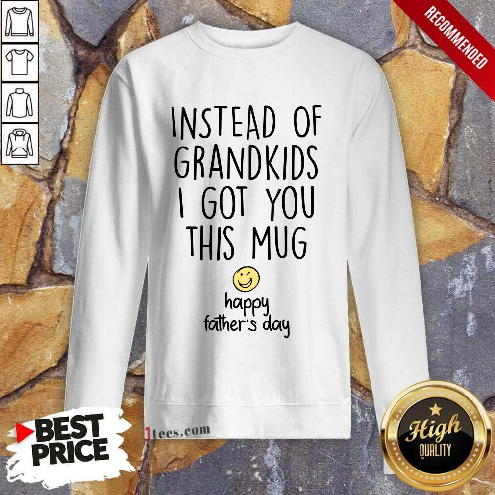 Instead Of Grandkids Happy Fathers Day Sweatshirt