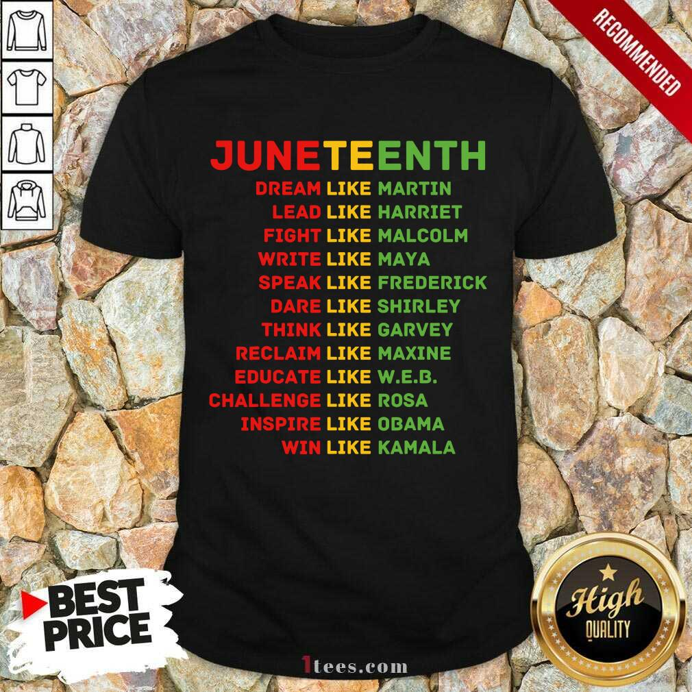 Juneteenth Day Shirt