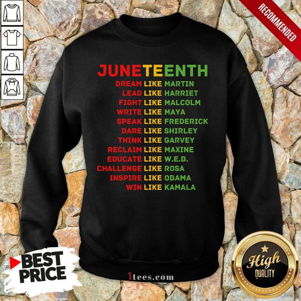 Juneteenth Day Sweatshirt