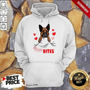 Love Bites Shepherd Dog Hoodie