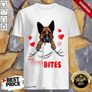 Love Bites Shepherd Dog Shirt