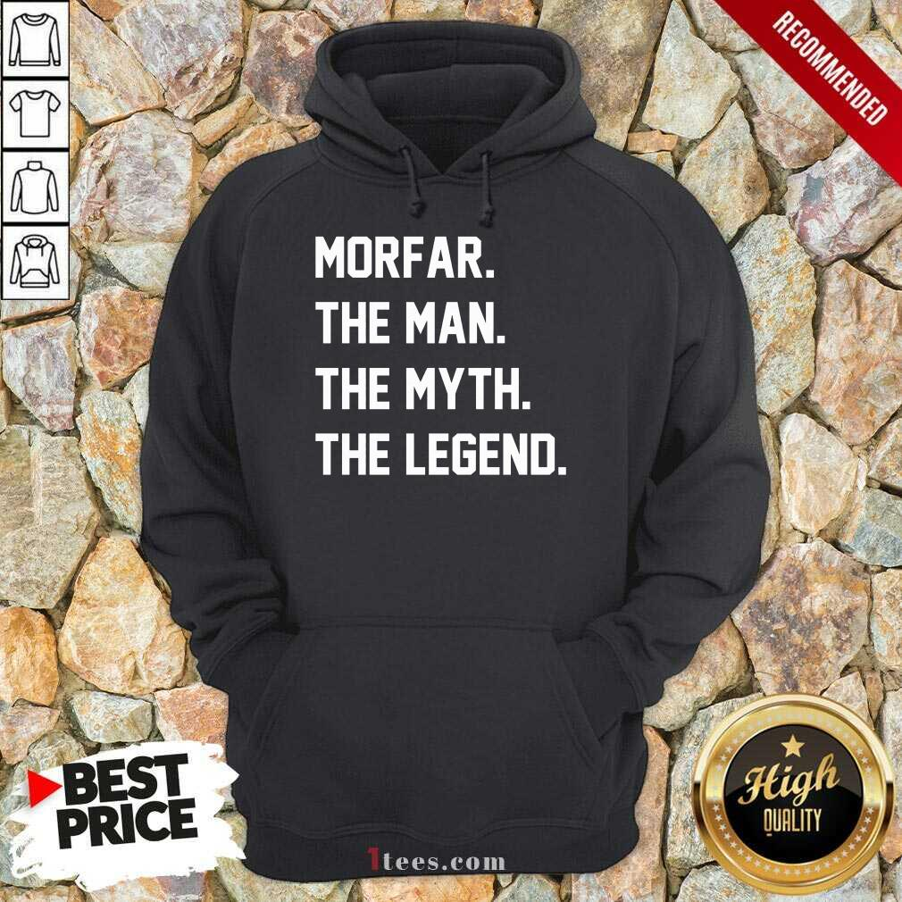 Morfar The Man The Myth The Legend Hoodie