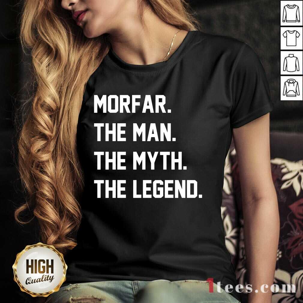Morfar The Man The Myth The Legend V-neck