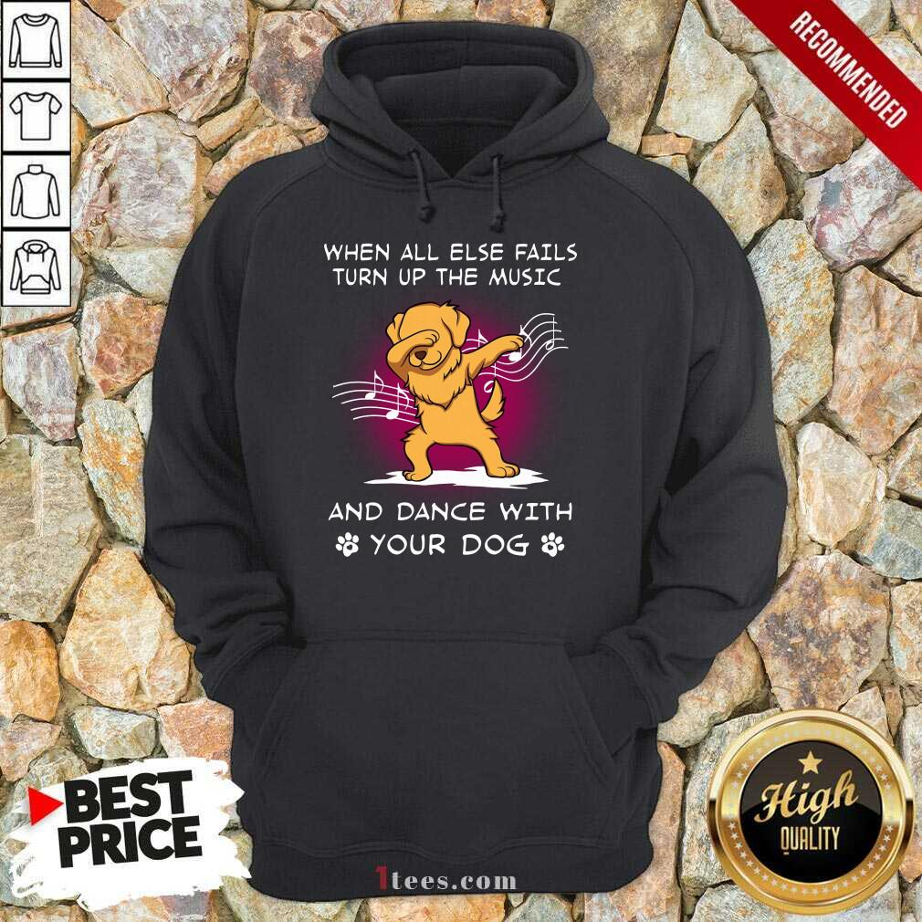 Music And Dance With Your Golden Dog Hoodie