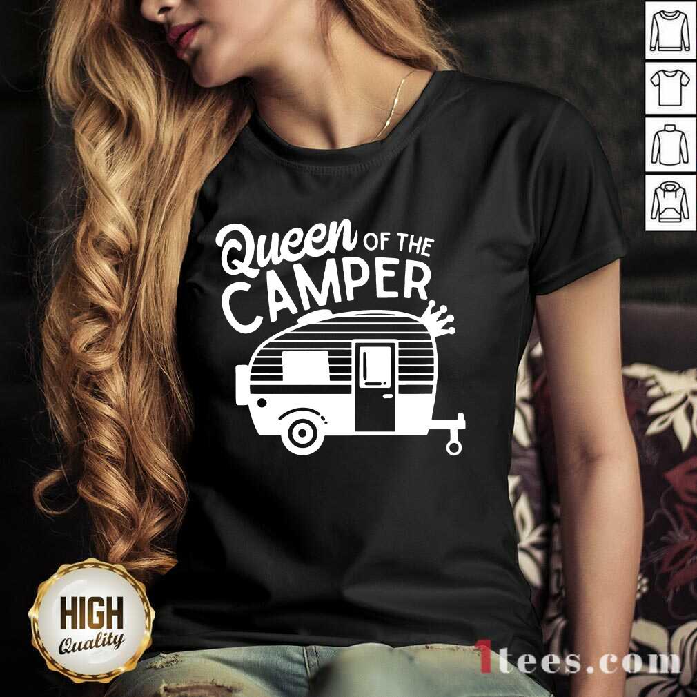 Queen Of The Camper V-neck