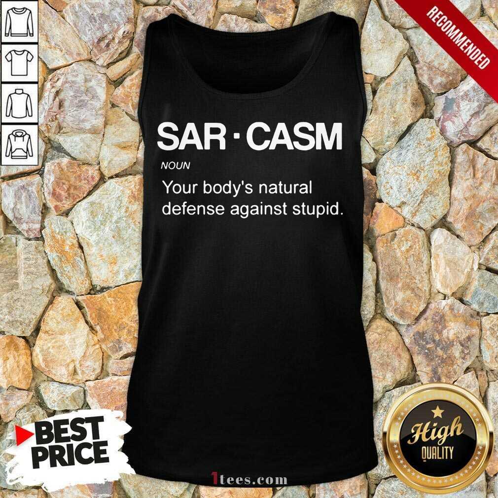 Sarcasm Noun Tank Top