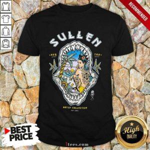 Sullen Shark Sunset Shirt