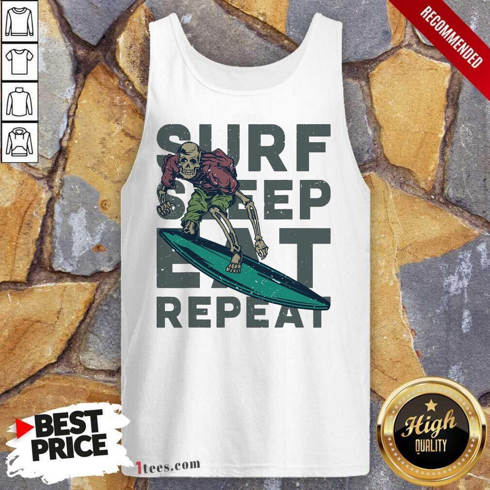 Surf Sleep Eat Repeat Tank Top