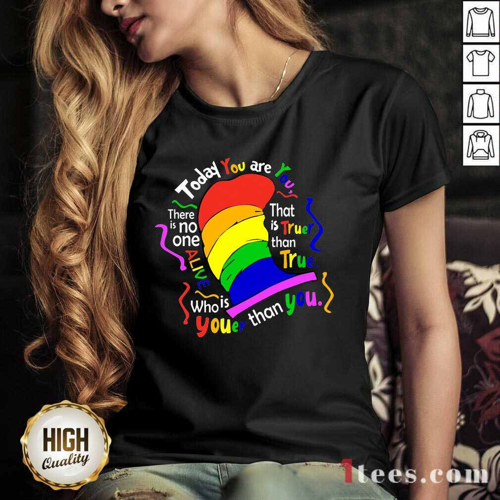 Today You Are LGBT V-neck