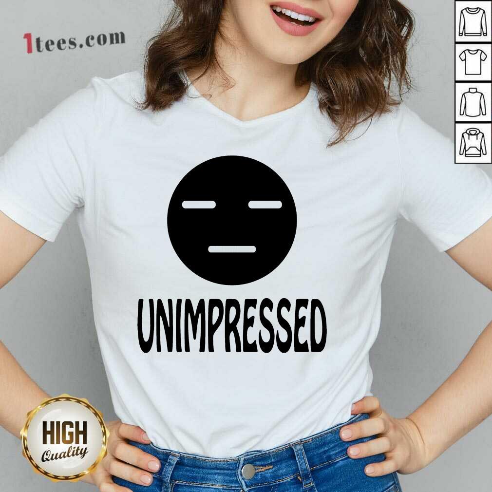 Unimpressed V-neck