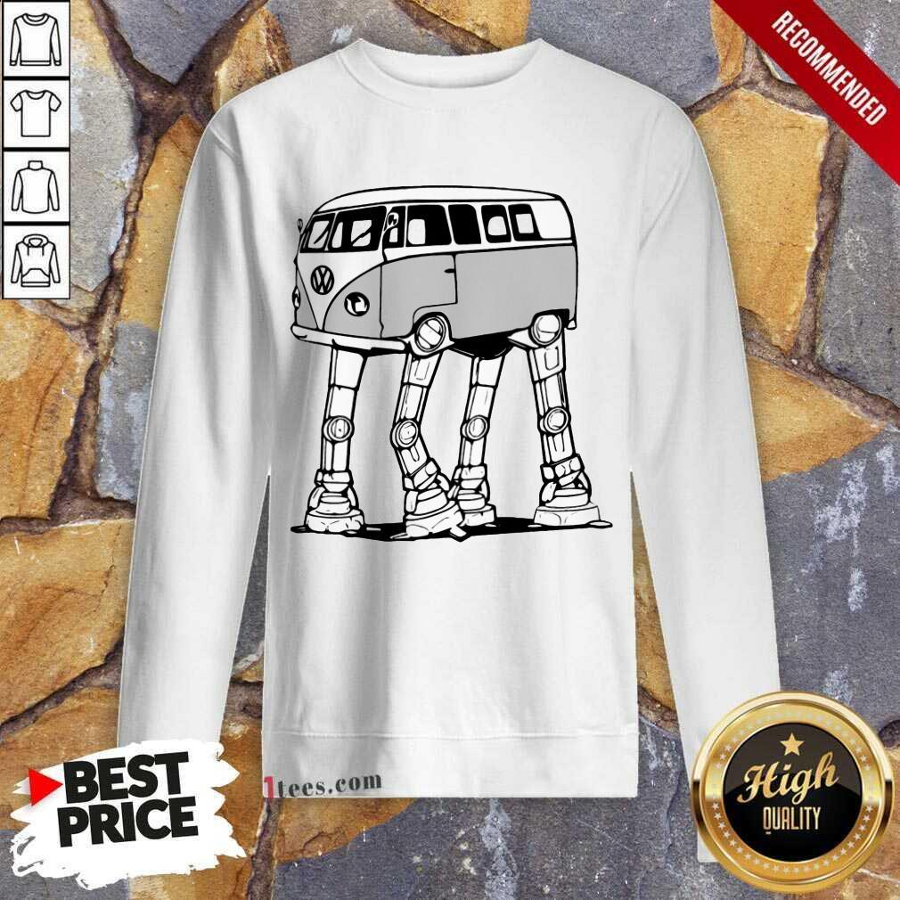 Volkswagen Car Bus Hippie Sweatshirt
