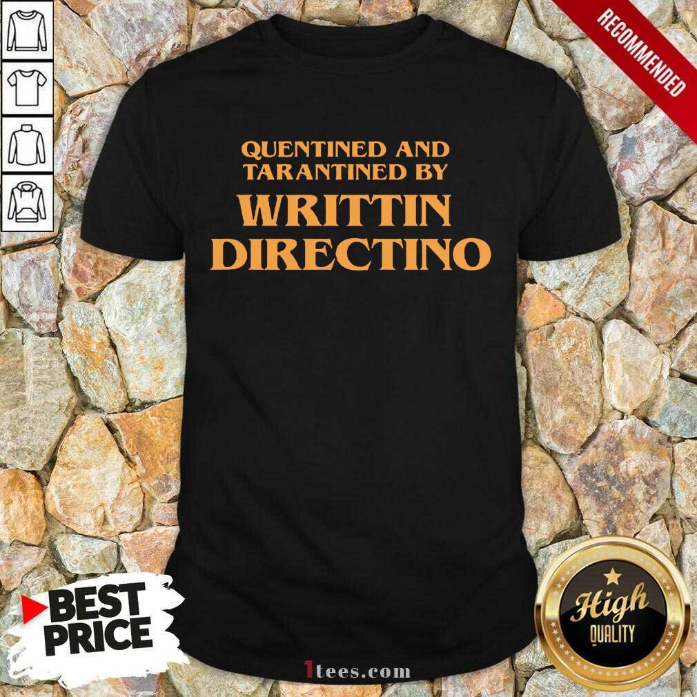 Writtin Directino Shirt