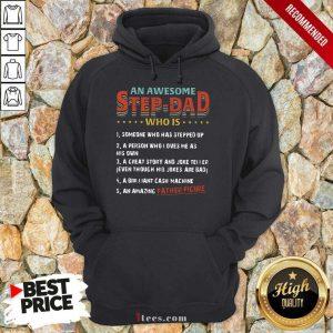 An Awesome Step-Dad Vintage Hoodie