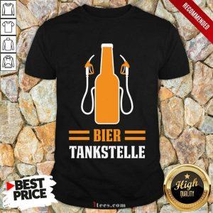Bier Tankstelle Kostüm Karneval Shirt
