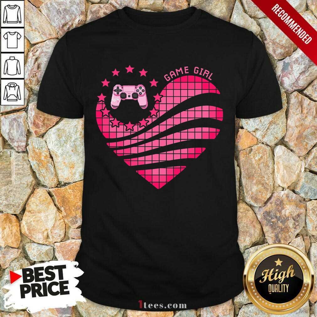 Game Girl Heart Shirt