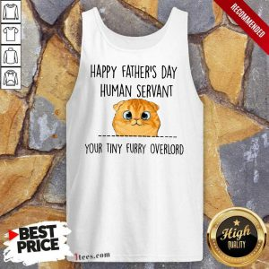 Happy Fathers Day Cat Tank Top