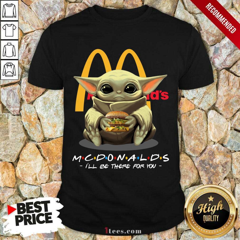 Mcdonald's Baby Yoda Shirt