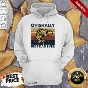 Officially Best Dad Ever Fishing Hoodie