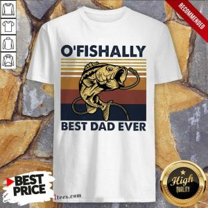 Officially Best Dad Ever Fishing Shirt