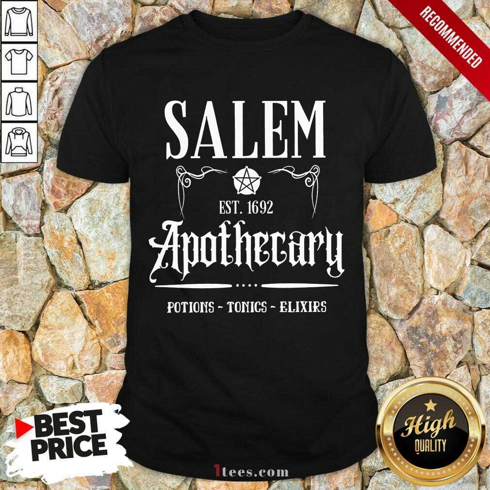 Salem Est 1692 Apothecary Shirt