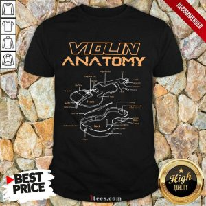 Violin Anatomy Shirt