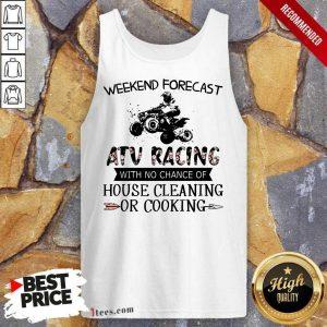 Weekend Forecast ATV Racing Tank Top