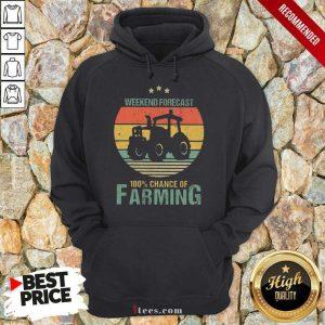 Weekend Forecast Farming Vintage Hoodie