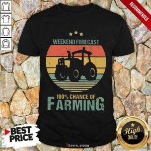 Weekend Forecast Farming Vintage Shirt