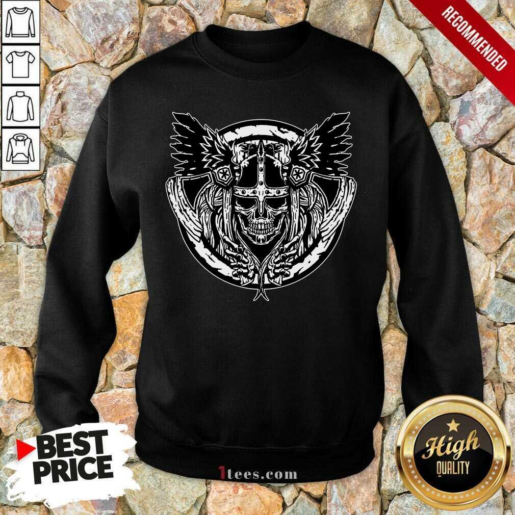 Top Viking Lover Sweatshirt