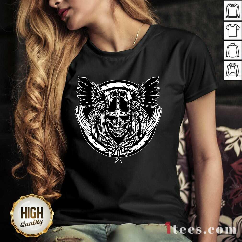 Top Viking Lover V-neck